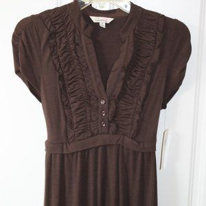 NWT Speechless Brown Midi Dress